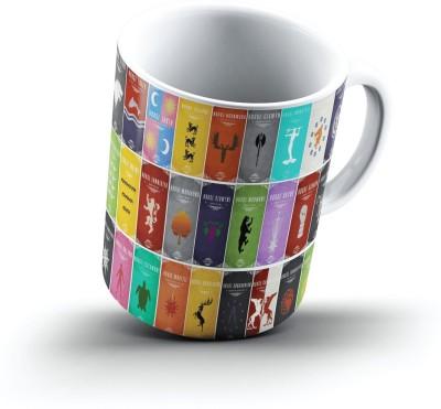 Ucard Game Of Thrones Sigils1056 Bone China, Ceramic, Porcelain Mug