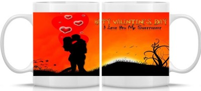 Shoperite Happy Valentines Day my sweet heart Ceramic Mug