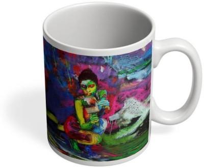 PosterGuy Freedom!! Art, Peace, Colors, Nude-Art, Ceramic Mug