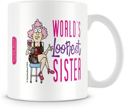 Tashanstreet Aunty Acid World,s Loopiest Sister Ceramic Mug