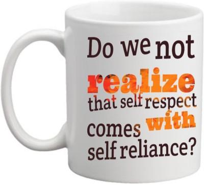 Printocare Do we not Realize Ceramic Mug