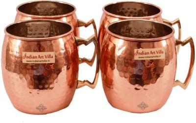 Indian Art Villa IAV-C-2-120A Copper Mug