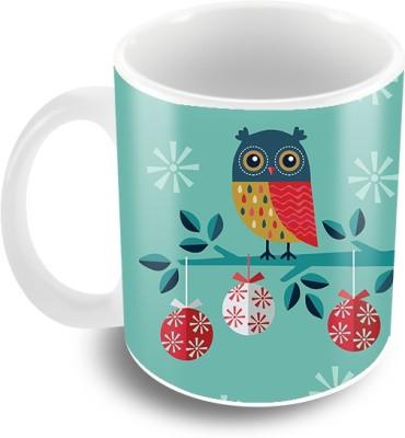 Thecrazyme Owl Ceramic Mug