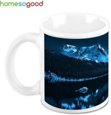 HomeSoGood Shadow Of The Moon Ceramic Mug