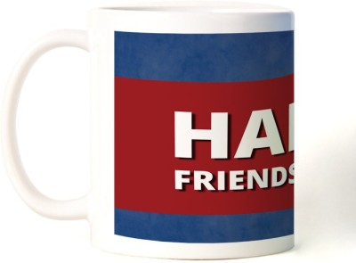 Rockmantra 3D Happy Friendship Day Ceramic Mug