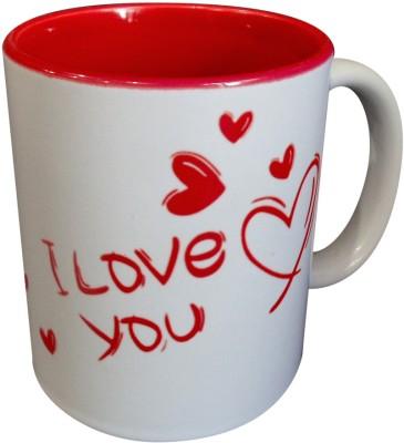 Luxury Gifts By Nikki I Love You Ceramic Written Artistically Ceramic Mug
