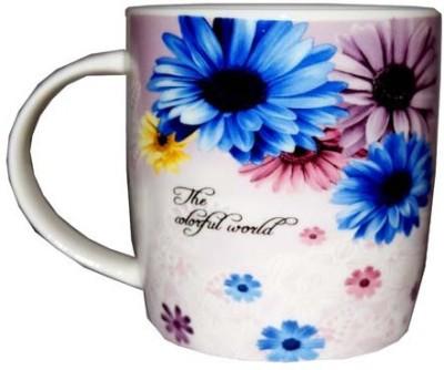SNYTER Colorful World Purple Ceramic Mug