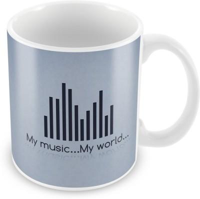 AKUP my-music-my-world Ceramic Mug