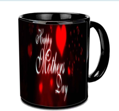 Jiya Creation1 Happy Mother,s day in heart wallpaper Multicolor Ceramic Mug