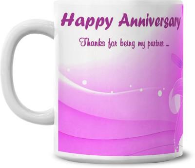 Lovely Collection Best Partner Ceramic Mug