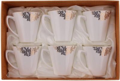 White Gold 3306-190G Porcelain Mug