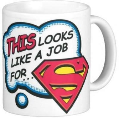 G&G Look Like Superman Funny Ceramic Mug