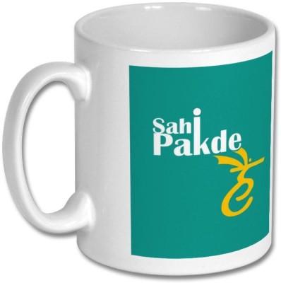 ShopTwiz Sahi Pakde Hain Ceramic Mug