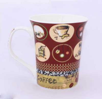 Aarzool Coffee & snacks Print MUG Bone China Mug