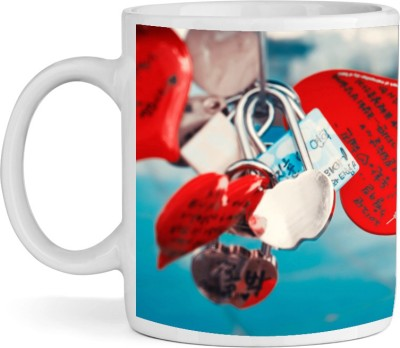 BSEnterprise Make A Wish Lock Ceramic Mug