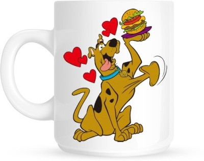 Hainaworld Hungry Scooby doo Coffee  Ceramic Mug
