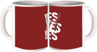 Shopkeeda Yes Yes Yes Ceramic Mug