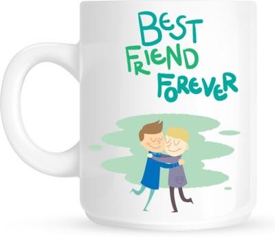 Huppme Best Friend Forever Ceramic Mug