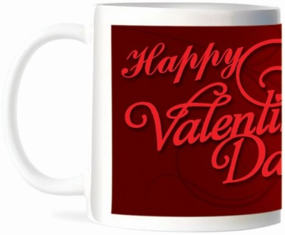 Refeel Gifts Happy Valentines Day (SD-217)- Personalized Ceramic Mug