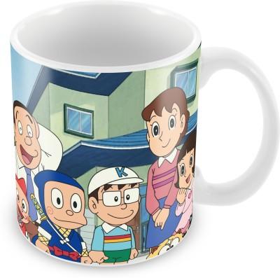 Prinzox Ninja Hattori Family Theme Ceramic Mug