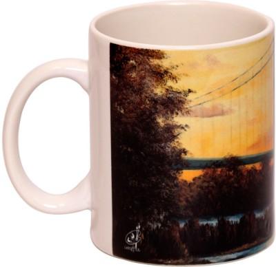 IMFPA Suspension Bridge Ceramic Mug