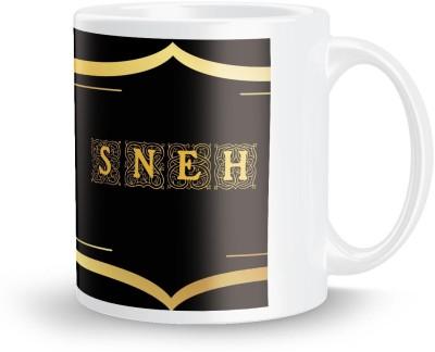 posterchacha Sneh Name Tea And Coffee  For Gift And Self Use Ceramic Mug