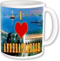 PhotogiftsIndia I Love Andhrapradesh Ceramic Mug