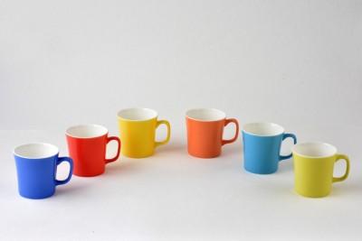 BP Bharat Coffee  Muddy Mix Color Bone China Mug
