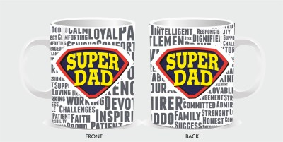 Packnbuy Best Gift Ever for Dad. Fathers Day Special Glass Mug