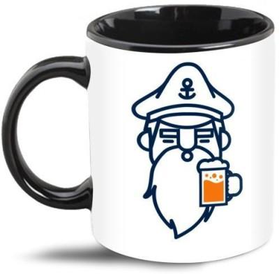 Beard India Captain Beard Beer Coffee  Ceramic Mug
