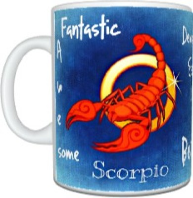 CreativesKart Zodiac Scorpio (F) Ceramic Mug