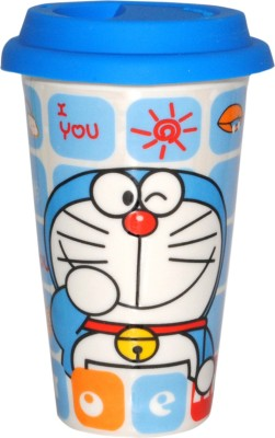 Divsam Cute Doraemon Printed Ceramic Mug