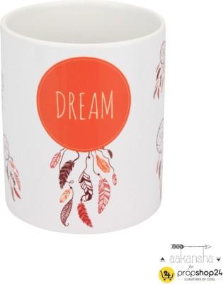 PropShop24 COFFEE MUG - DREAM CATCHER Ceramic Mug