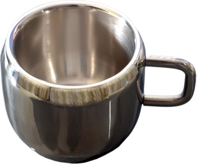 Palak Apple Cup Stainless Steel Mug