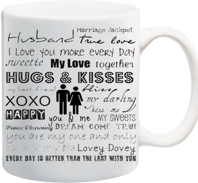 Awwsme Husband True Love Bone China Mug
