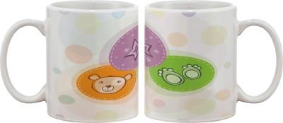 Artifa Bear , Paws And Star Porcelain, Ceramic Mug
