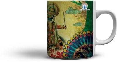 The Indian Graceful Coffee Ceramic Mug