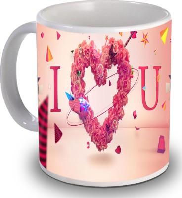 PSK I Love You ILU21 Ceramic Mug