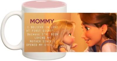 Huppme Mommy Inner Pink  Ceramic Mug