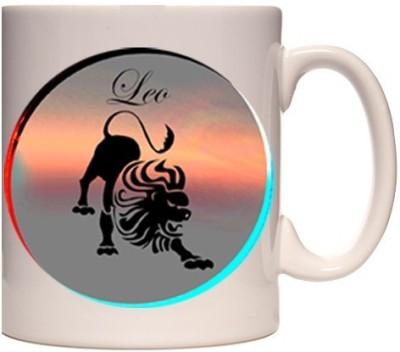 Onlineworld Zodiac Coffee - White - Leo - 05 Ceramic Mug