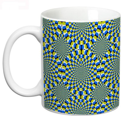 Prithish Pscychological Illusions Design 8 Ceramic Mug