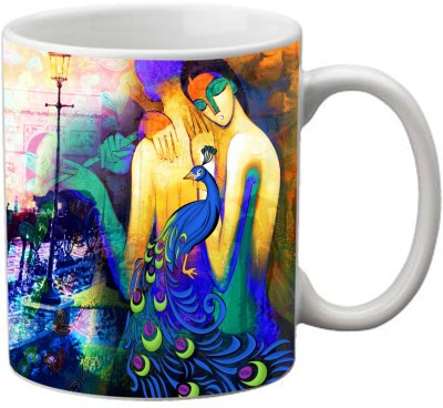 Romanshopping couples  Bone China Mug