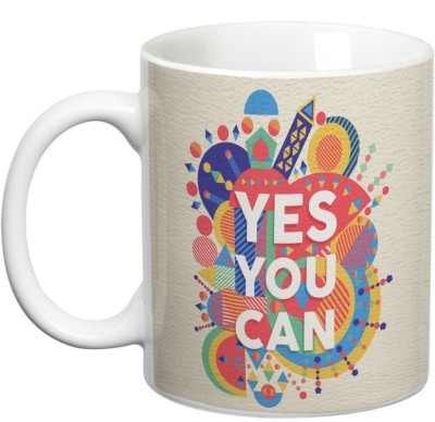 Prithish Yes You Can Ceramic Mug