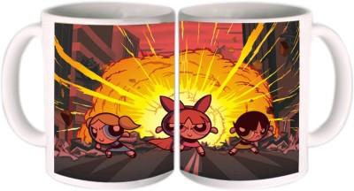 Shopkeeda Powerpuff Girls Ceramic Mug