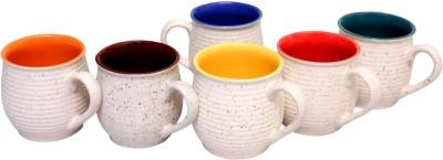 Vpra Mart Marble Kulhar Ceramic Mug