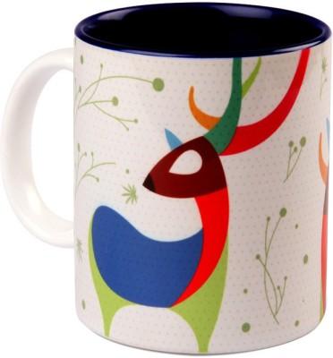 Studio Pandora Deer Coffee Ceramic Mug