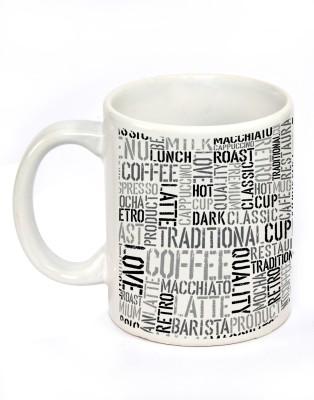 Fashion Envoy Newspaper Ceramic Mug