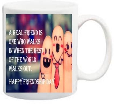Awwsme A Real Friends Is One Ceramic Mug