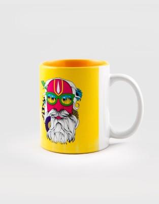 Kulture Shop Kultureshop Dipped in Colour  Ceramic Mug