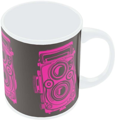 PosterGuy Shoot Me Pop Art Camera Digital Art Ceramic Mug